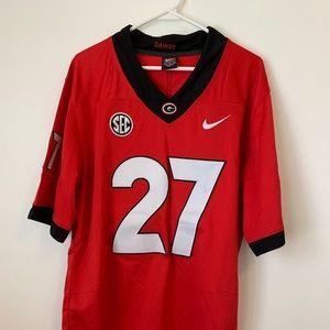 UGA nick chubb #27 jersey